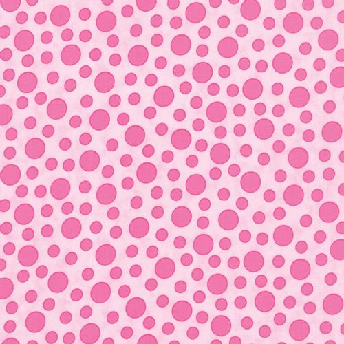 Moda - Bandana, Dots - Pink Cotton Patchwork Fabric